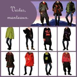 A découvrir nos vestes, ponchos, manteaux ethniques chics sur notre e-boutique. Une collection de vêtements ethniques chics confortables colorés pour un look différent ...