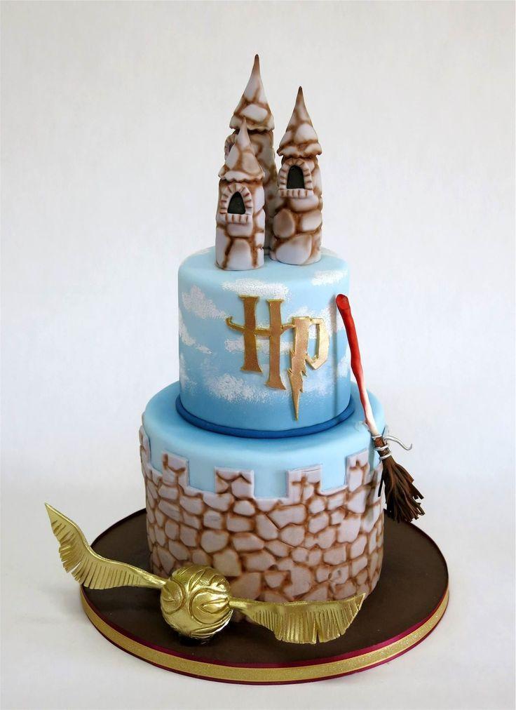 Cake Nouveau Harry Potter