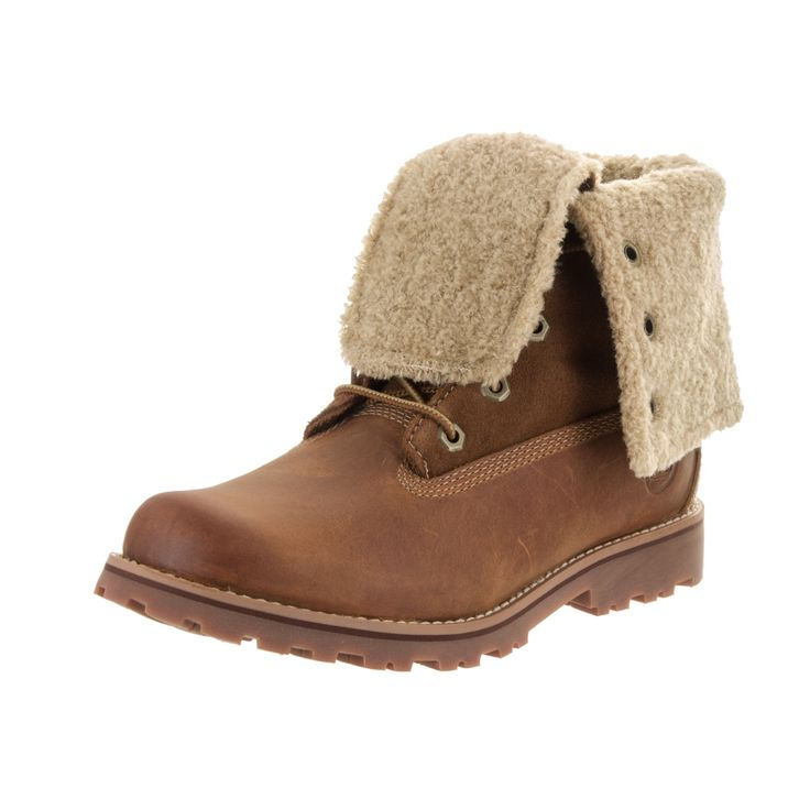 Timberland Kids' Authentic 6-inch Faux-shearling Boot