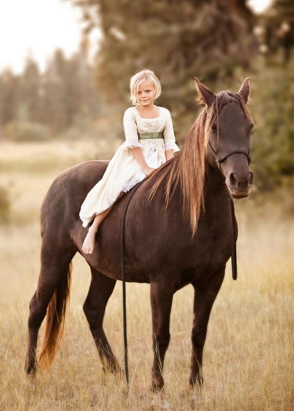 Any little girl whose best friend was a patient horse will understand. :)