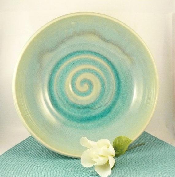 Desert Sky Large Ceramic Serving Bowl  by BlueSkyPotteryCO on Etsy, $90.00