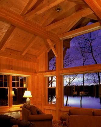new hampshire timber frame home great room with big windows great rooms pinterest home lakes and beautiful