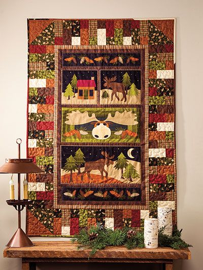 Quilting Patterns Using Panels : 25+ best ideas about Fabric Panels on Pinterest Fabric panels for quilting, Panel quilts and ...