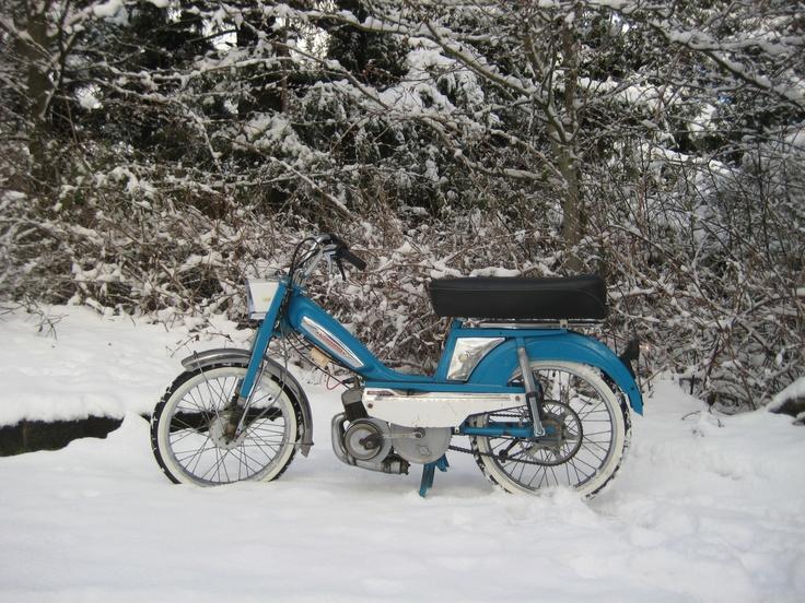 1970 Motobecane Mobylette 50V Moped
