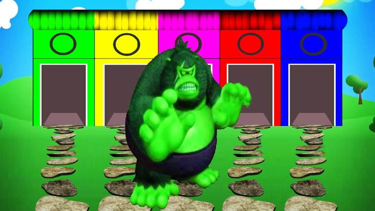 Colors For Children to Learn With Gorilla - Colors For Kids To Learn Video