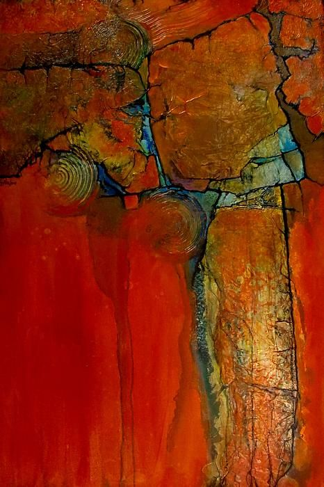 Pintura abstracta moderna de Carol Nelson