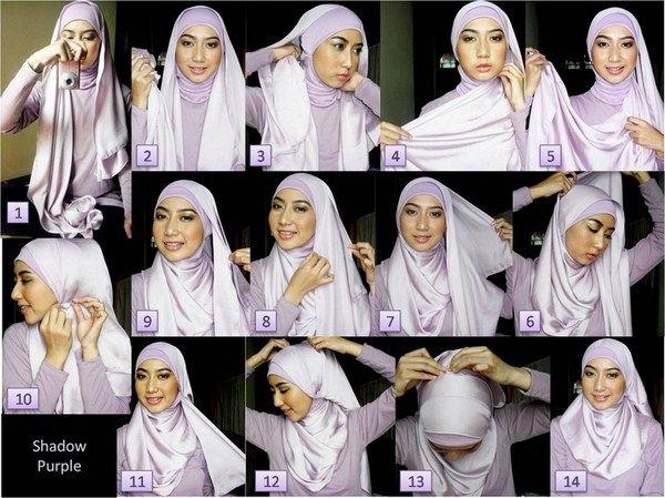 How to wear hijab 006 600×449
