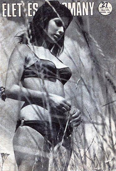 Szedres Mariann első címlapja, 1972-ben