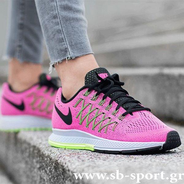 Nike Air Zoom Pegasus 32 (749344-600) Το γυναικείο αθλητικό Air Zoom Pegasus 32 της Nike είναι το πιο γρήγορο και δυναμικό παπούτσι για τρέξιμο που δημιουργήθηκε πότε. 1)Η μονάδα Nike Zoom Air στη φτέρνα προσφέρει, διακριτική αντικραδασμική προστασία με άριστη απόκριση. 2)Η νέα σχεδίαση φέρνει τη μονάδα πιο κοντά στο πόδι, εξασφαλίζοντας βελτιωμένη αντικραδασμική προστασία από το πρώτο μέχρι το τελευταίο χιλιόμετρο της κούρσας. Δωρεάν μεταφορικά!!! Αγορές On Line στο www.sb-sport.gr.