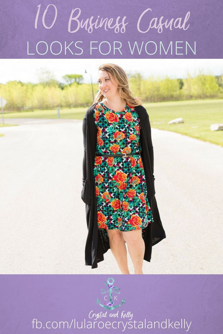 ab30064b2eb 10 Business casual looks for women this Summer. How to style the Amelia  dress from LuLaRoe for work. Click here to shop our current inventory and  for more ...