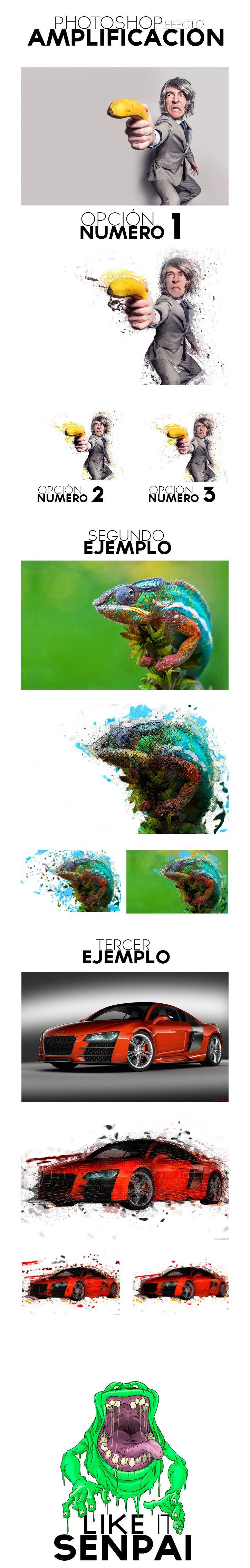 Photoshop efecto Amplificacion