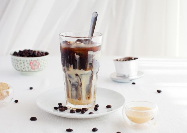 If you like bold flavor, then you're going to love Vietnamese iced coffee. It's traditionally prepared with condensed milk, so if you like your coffee sweet, then this is the drink for you... l #coffee