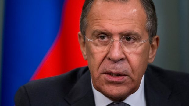 Russian Foreign Minister Sergey Lavrov has suggested expelling 35 U.S. diplomats in a tit-for-tat move after the U.S. announced Thursday it would expel 35 Russian diplomats.