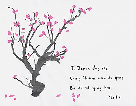 Haiku about cherry blossoms and spring