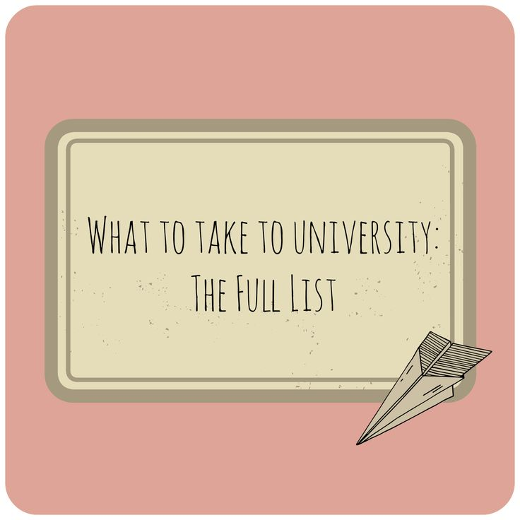 """So just to round up this """"What to take to university"""" series, I thought I'd consolidate the list so it's all in one place.      Bedroo..."""