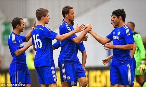 Chelsea - Vitesse: Costa, Fabregas phô diễn tài năng | kenhthethao.vn