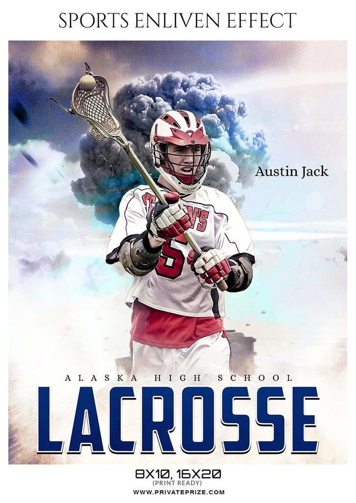 Austin Jack – Lacrosse Sports Enliven Effects Photography Template