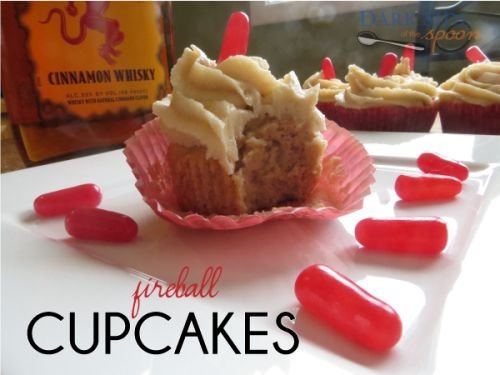 This adults-only treat gets its kick from Fireball whisky and is topped with a decadent, spiked brown sugar buttercream frosting.