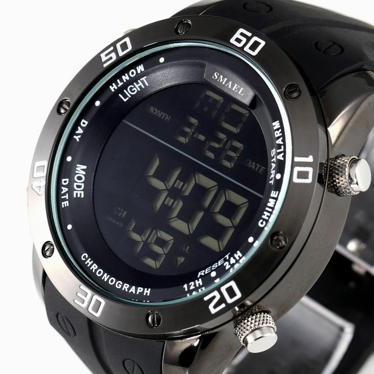 Fashion Casual Watches Men Orange LED Digital Watches Sports Alloy Clock Male Automatic Date Watch Army Men's Wristwatch WS1145 Who like it ?  #shop #beauty #Woman's fashion #Products #Watch
