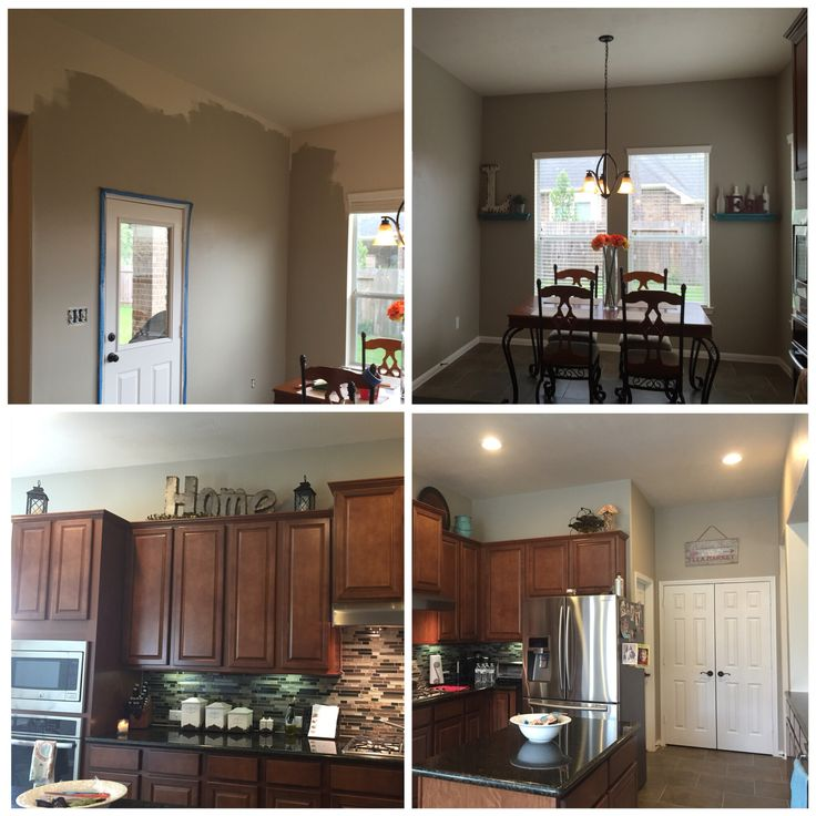 Painted Family Kitchen With Dining Nook: 21 Best Behr Castle Path Paint Images On Pinterest