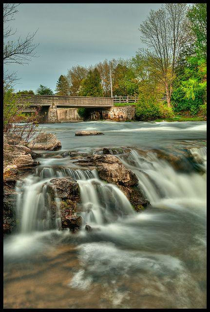 Sauble Falls . Ontario Canada