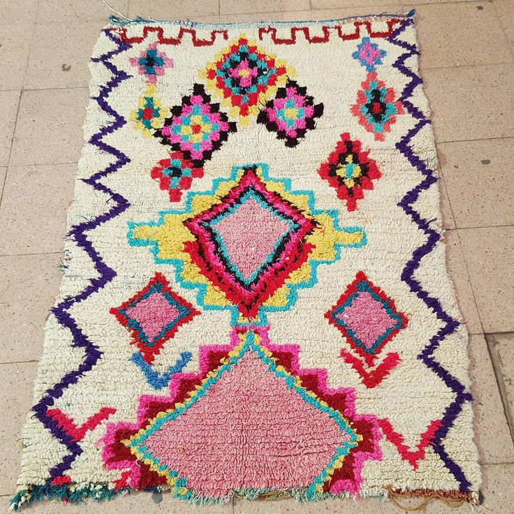 beautiful colorful fluffy rug rug love pinterest