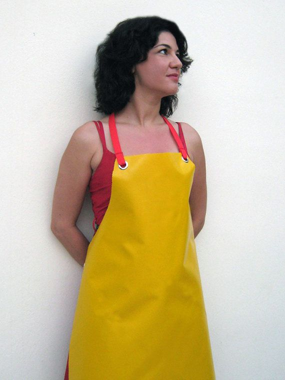 14 best Women in Rubber Aprons images on Pinterest | Apron