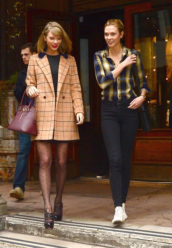 Taylor Swift y Karlie Kloss, pareja de estilo