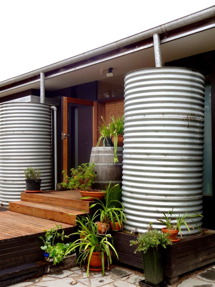 Best 25 water tank ideas on pinterest water collection for Home rainwater collection