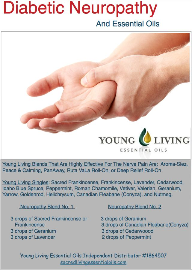 Diabetic Neuropathy and Young Living Essential Oils for pain management without over-the-counter medications that can be toxic to your liver.