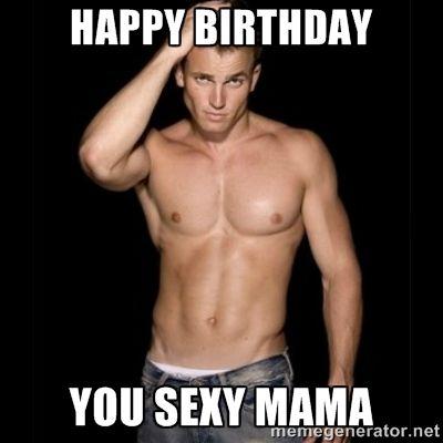 E Sexy birthday
