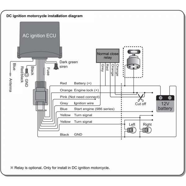Ignition Coil Wiring Diagram Motorcycles from i.pinimg.com