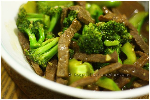 Beef with Broccoli in Oyster Sauce | Rockin' Recipes | Pinterest