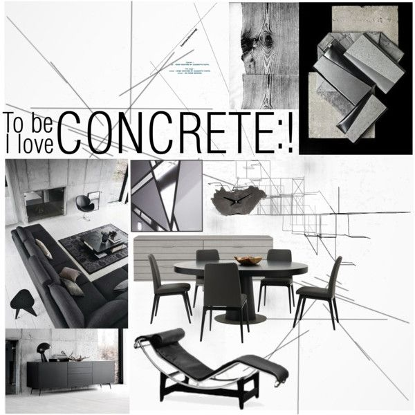 """Concrete"" by szaboesz on Polyvore"