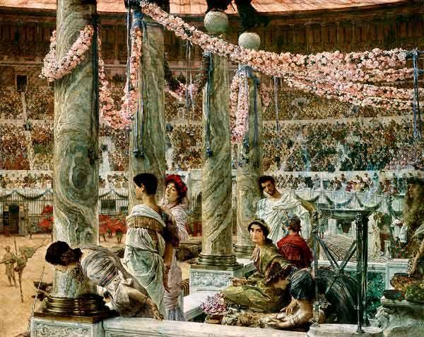 Sir Lawrence Alma-Tadema - Caracalla and Geta