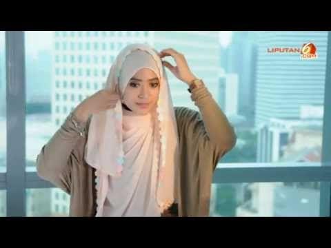 ▶ Tutorial Hijab Paris Segi Empat Terbaru 2013