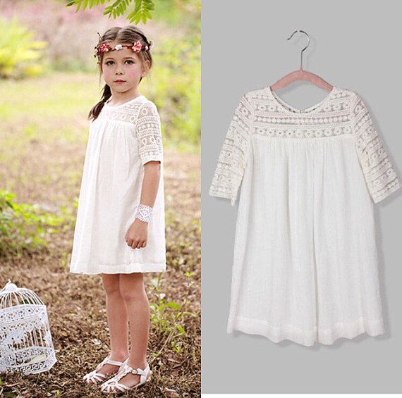 Lace boho dress by SassylilThangz on Etsy 30.00