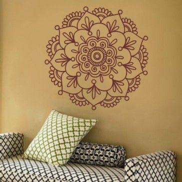 Adesivo Parede Decorativo - Mandala Floral
