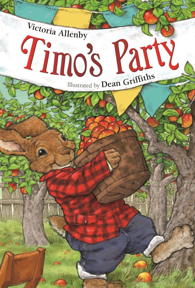Timo's Party by Victoria Allenby, illustrated by Dean Griffiths