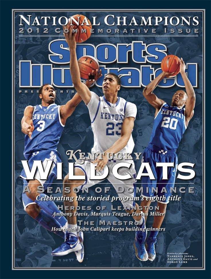 2012 Sports Ilustrated Commemorative Issue - Kentucky Wildcats