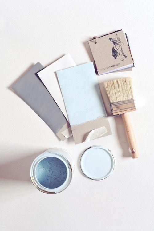 kleurenpalet wit-grijs-naturel en een vleugje blauw
