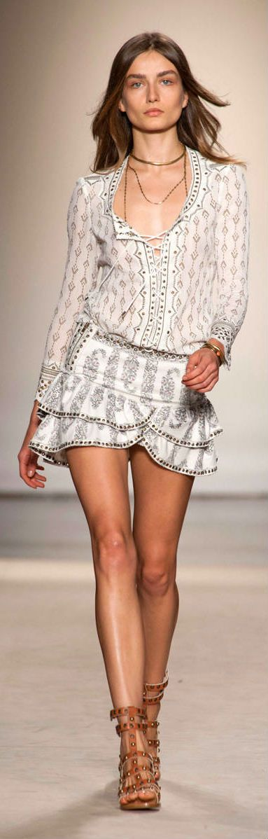 Isabel Marant at Paris Spring 2013