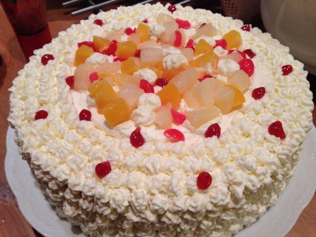 Making A Cream Cake - Persona Paper