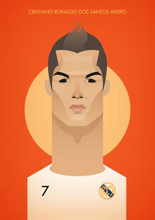 Cristiano Ronaldo Alternate Cartoon - Real Mardid VAMOS!