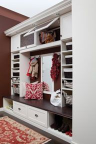 Love everything but the hooks for family room wall mudroom.