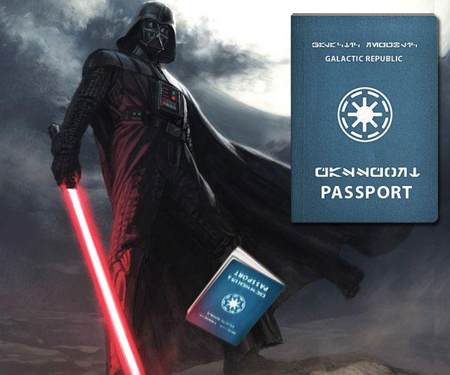 Galactic Republic Passport