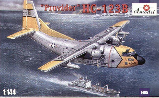 Fairchild HC-123B Provider. A Model, 1/144, injection, No.1405. Price: 13,86 GBP.