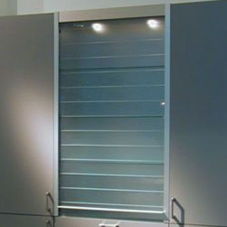 Cabinets With Roll Up Doors   REGAZ S.r.o. Shelvings Systems