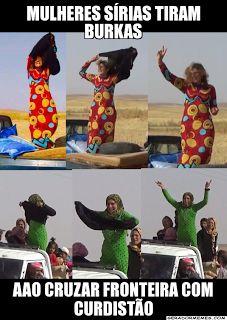 As Meninas dos Olhos Audiodescrição: Burkas...