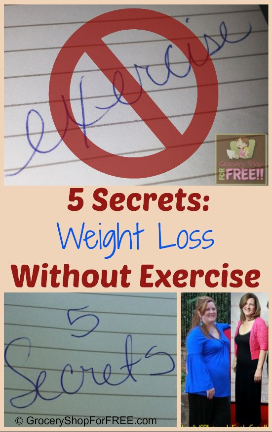 how to lose weight shed fat without exercise